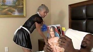 Centerfold Maid 14 - Milf Fucks BBC TRAILER