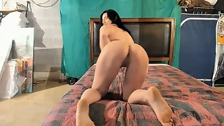 Amateur Wife In Stockings Enjoys Interracial Doggystyle Sex