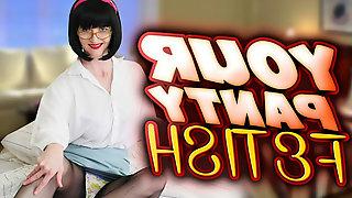 Naughty Julia in Your Panty Fetish Virtual Reality - FFStockings